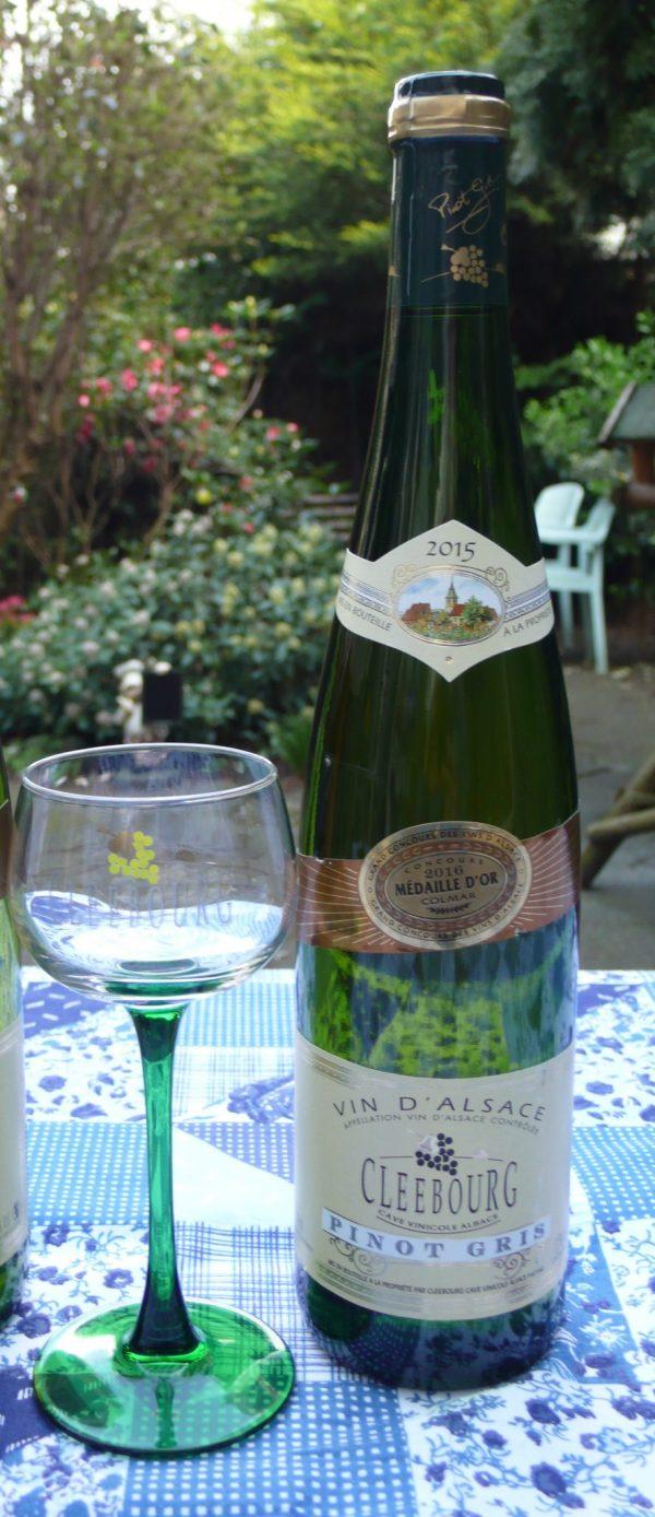 Excellente Pinot Gris uit Cleéebourg
