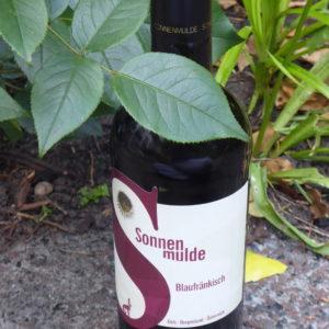 Prachtige rde wijn gemaakt van Blaufränkisch