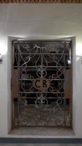 the private wine-cellar
